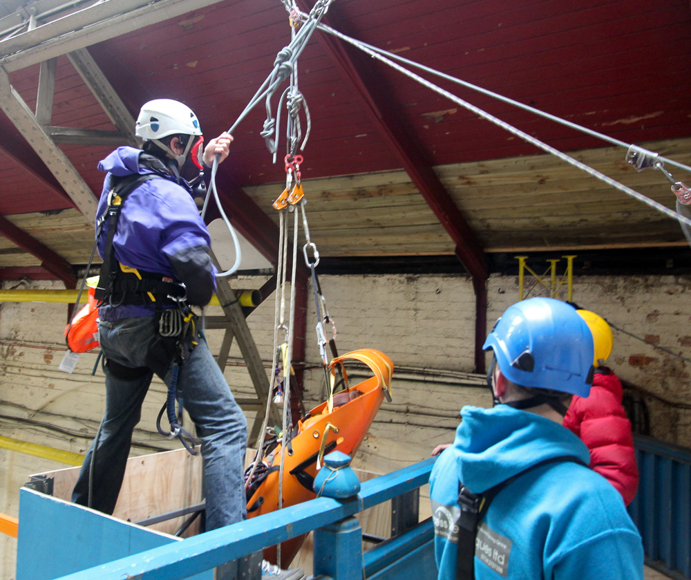 Confined Space Rope Access And Rescue